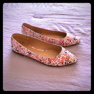 Old Navy floral flats